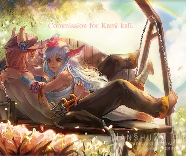::Commission::Kami-kali by nanshu29