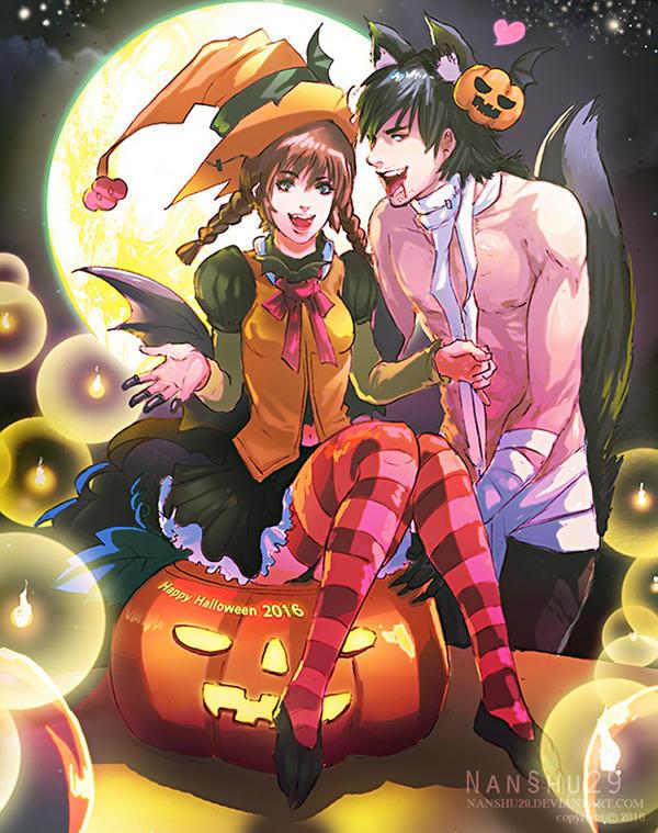 Happy Halloween 2016 by nanshu29