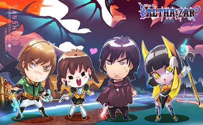 ::Original Chibi anime color::Balthasar Stroy by nanshu29