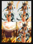 ::type of PSD file:: Anubis card ga by nanshu29