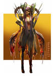 ::Character design::Zombie Fairy