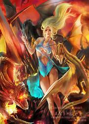 ::Commission:: Daenerys Targaryen by nanshu29
