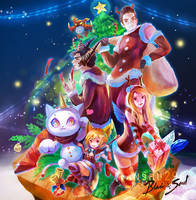 :Contest for BNS TH: Christmas Theme 2018