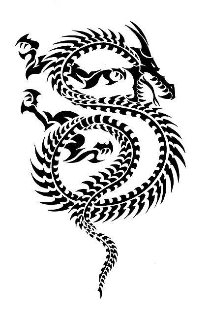 Dragon Tatoo by mauriliodna