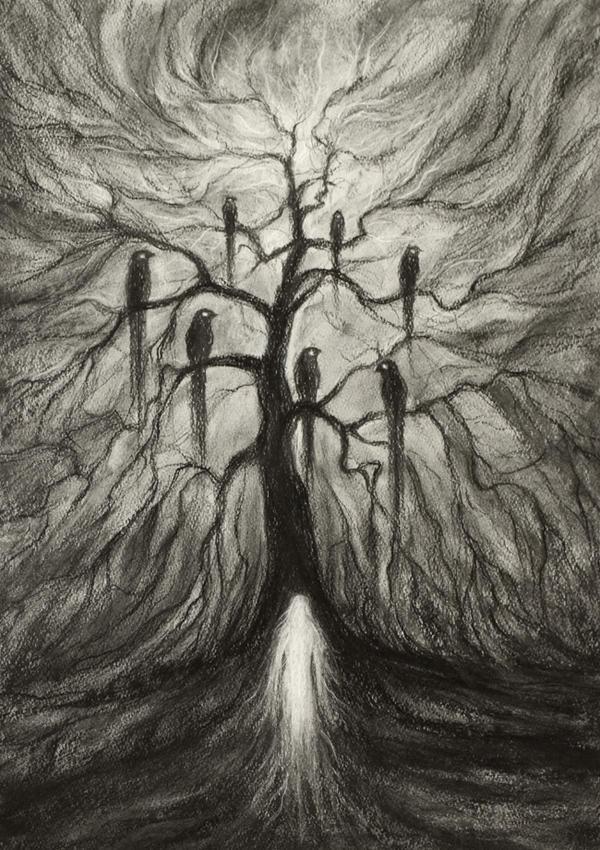 Bird tree by transe