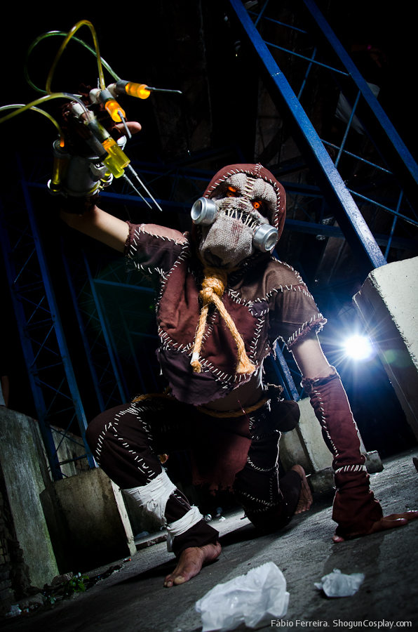 Scarecrow Cosplay (Espantalho Batman) by JNCosplayers