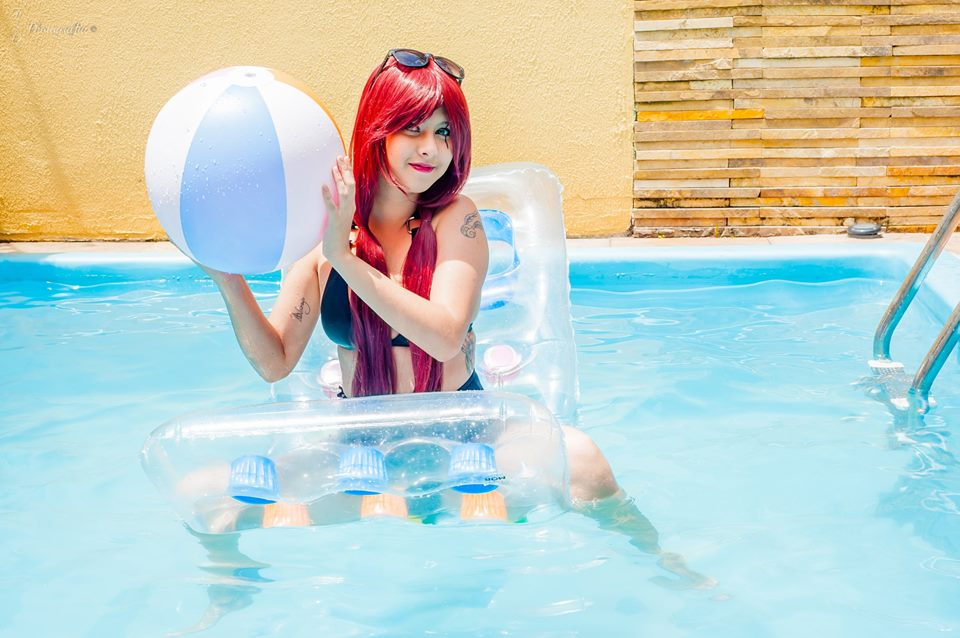 Katarina Pool Party by JNCosplayers
