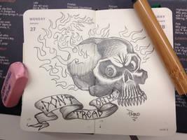 Don't tread on me by Apoklepz