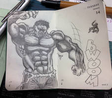 Hulk Smash by Apoklepz