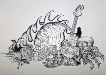 Spontaneous DUB Squad - Band Art 01
