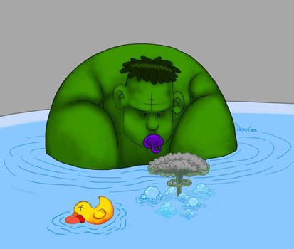Smash in the tub