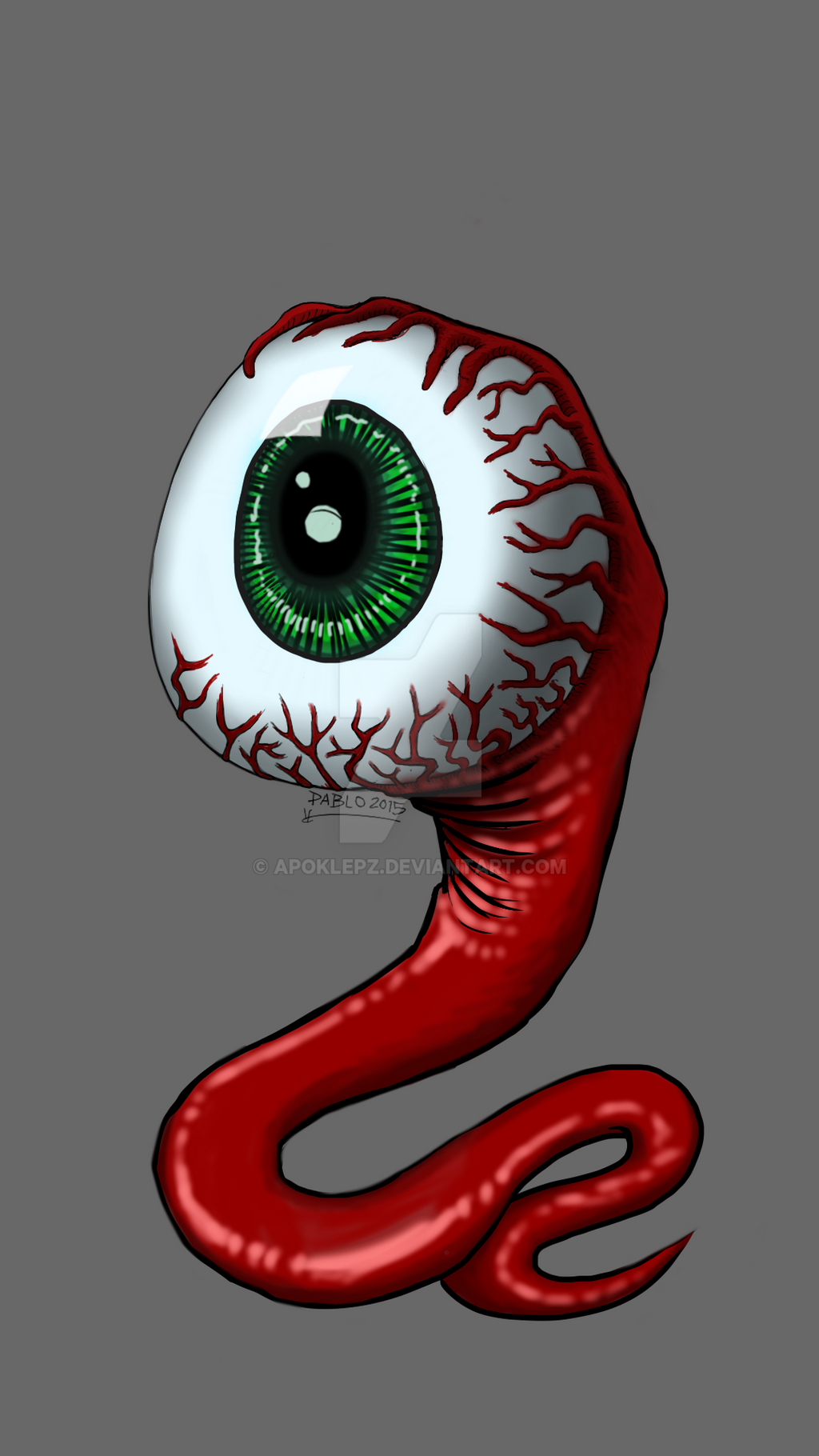 Eyeball by Apoklepz