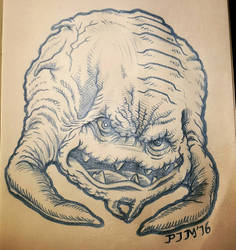 Krang TMNT by Apoklepz