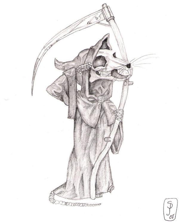 Death of Rats, Discworld by murtalann