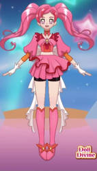 Cure Ruby Final design by Ruby2488
