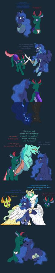 Art Dump Luna and Pharynx Relationship