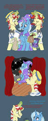 Couple Dump: Trixie x Flim by Pastel-Charms