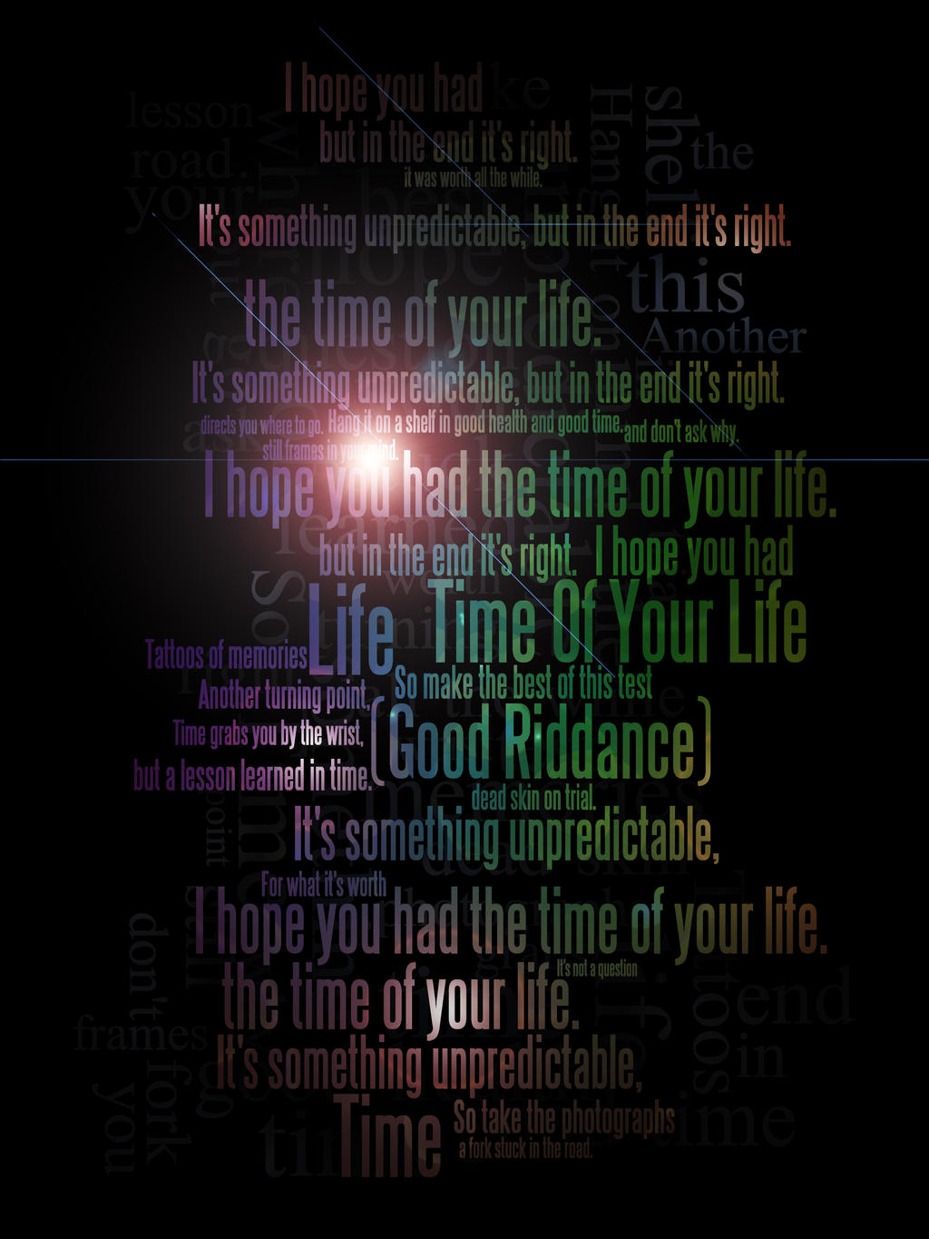 Songtext von Green Day - Good Riddance (Time of Your Life ...