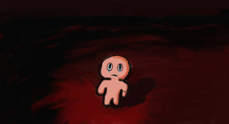 Isaac alone