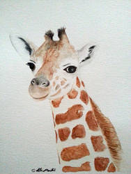 Giraffe by Z-any