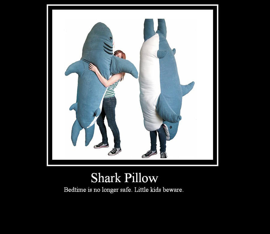 Shark Pillow That Eats You shark pillowasher-moonstar on deviantart