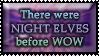 Night Elves before WOW by Andecaya