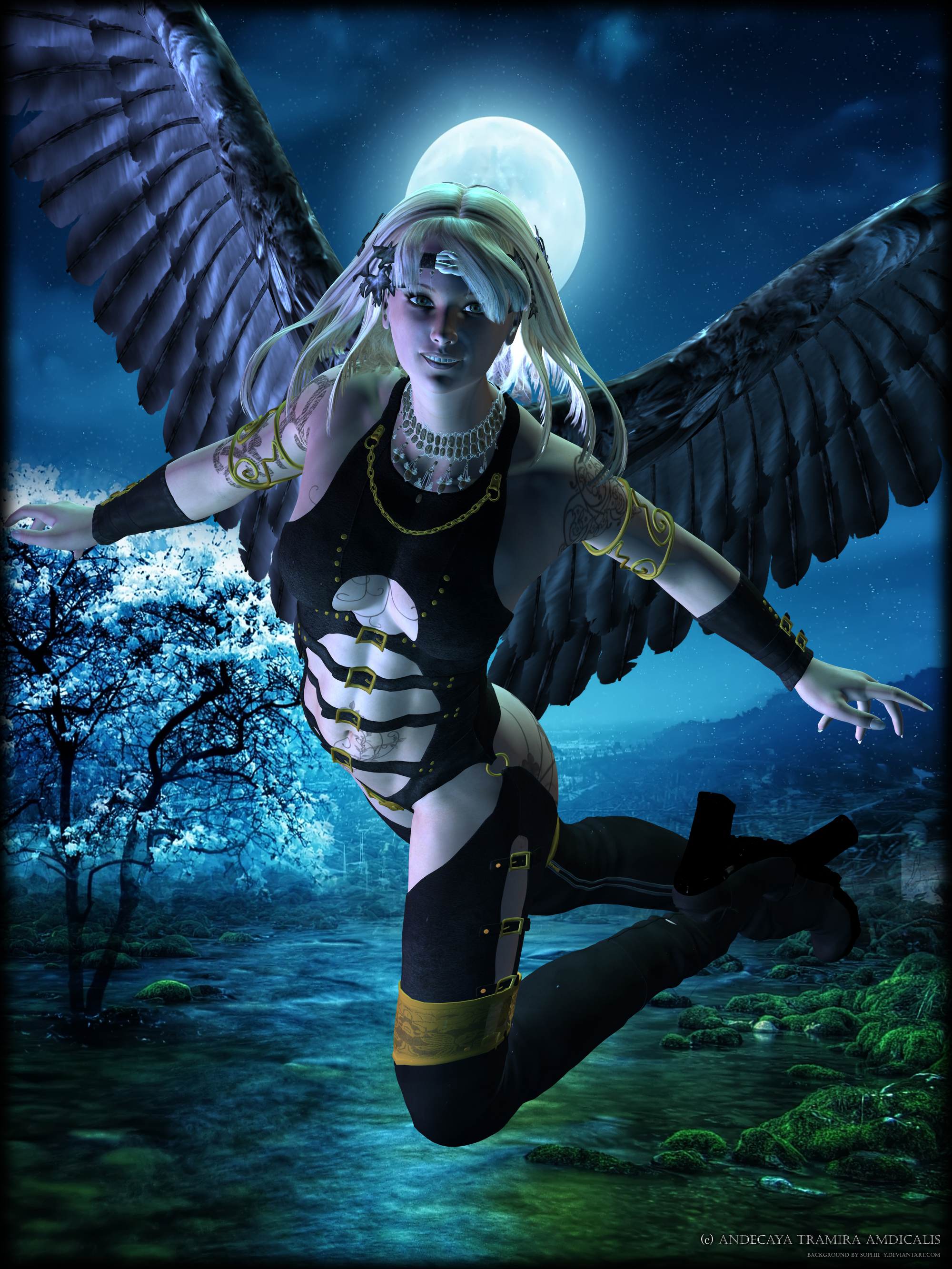The Night Angel by Andecaya