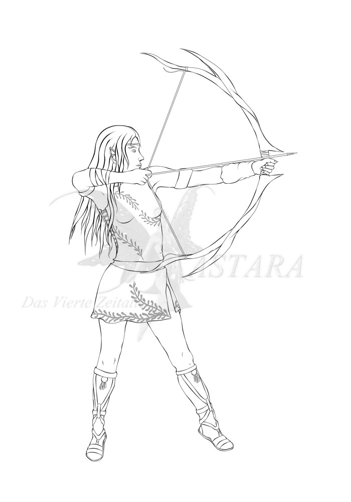 Serice Lineart by Andecaya