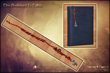 TAKEN - Bookmark Squirrel by Andecaya