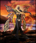 Golden Fairy by Andecaya