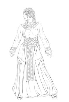 Chedestyra Lineart