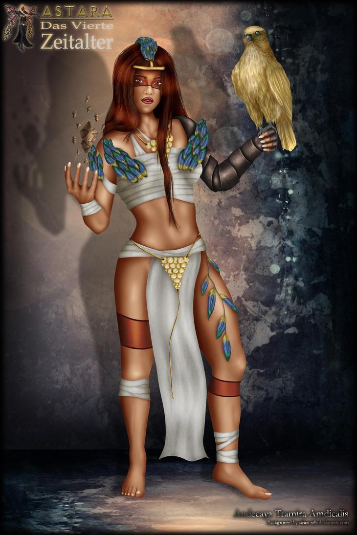 ASTARA: Ameysha - The Jungle Priestess by Andecaya