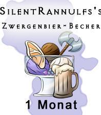 Zwergenbier-Becher