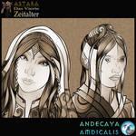 ASTARA - Blutelfen Portraits by Andecaya