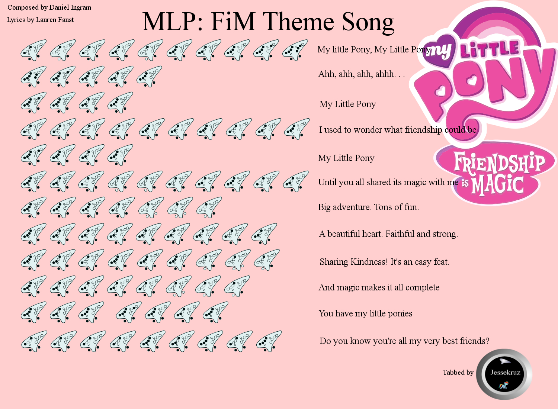 MLP:FiM Opening Theme Song by jessekruz on DeviantArt - photo#29