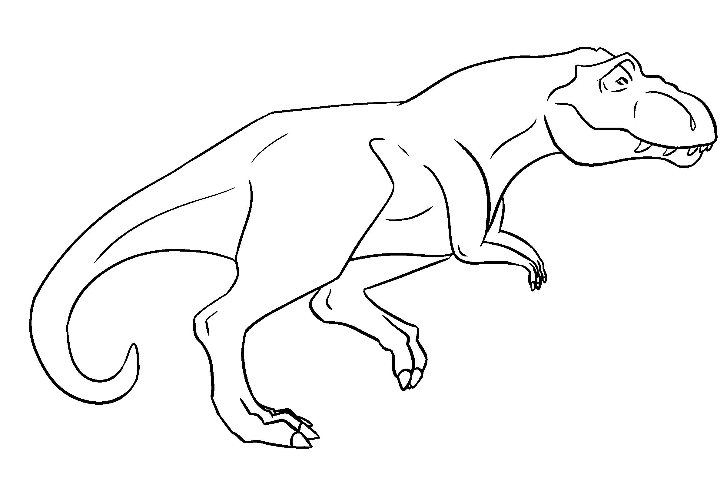 Line Art Dinosaur : Ms paint friendly t rex lineart by bananaflavoredshroom on