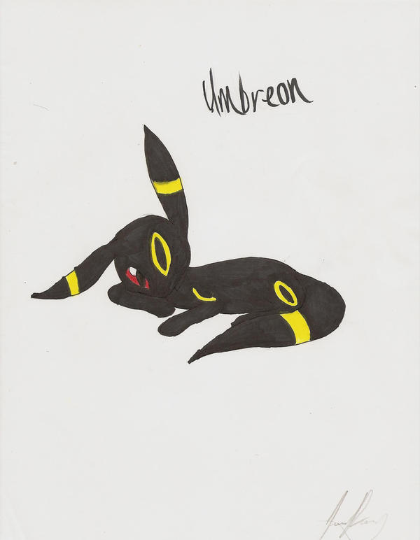 Umbreon by GodArceus