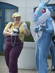 Exveemon Cosplay by Alucard2005