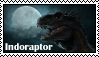 Indoraptor Stamp by ShardaronTheDragon