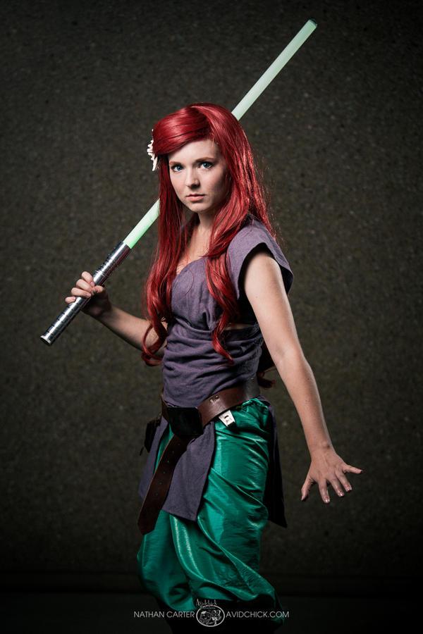 Jedi Ariel by sistersmischief