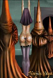 Naughty Nuns Contest (Digital Painting) by SinjinVega