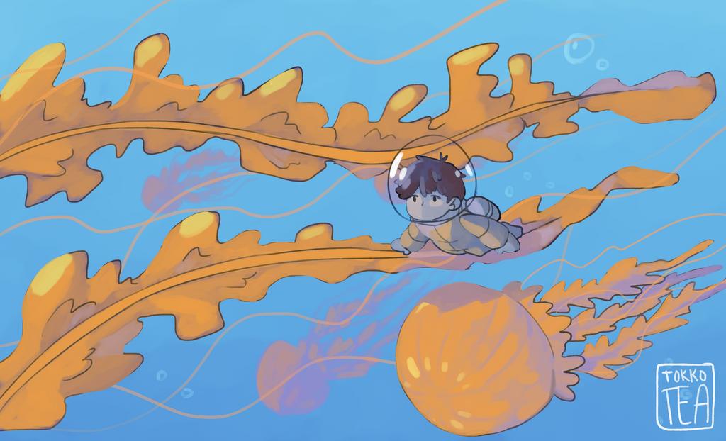 jellyfish by Tokkotea