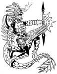 Tlahuizcalpantecuhtli by Tillinghast23