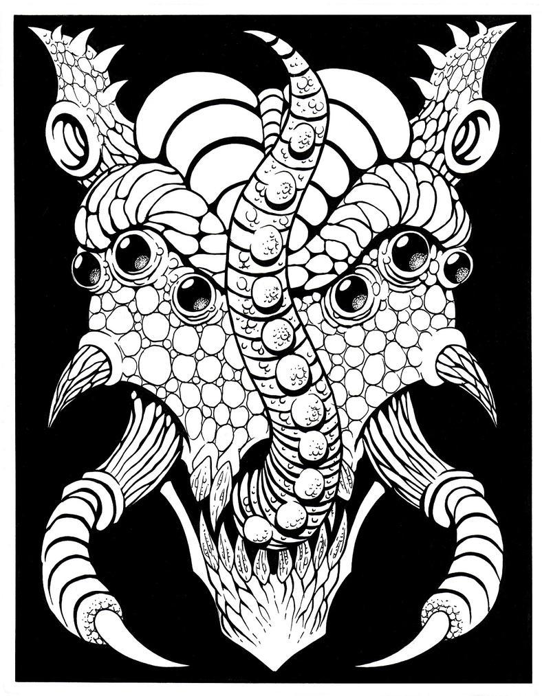 Dark God 6 by Tillinghast23