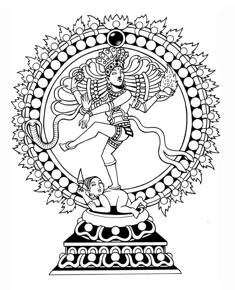 Nataraja (Dancing Shiva) by Tillinghast23 on DeviantArt