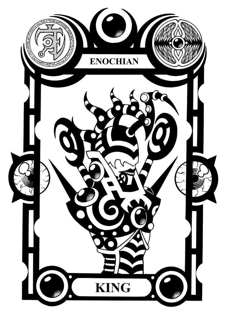 Enochian King by Tillinghast23