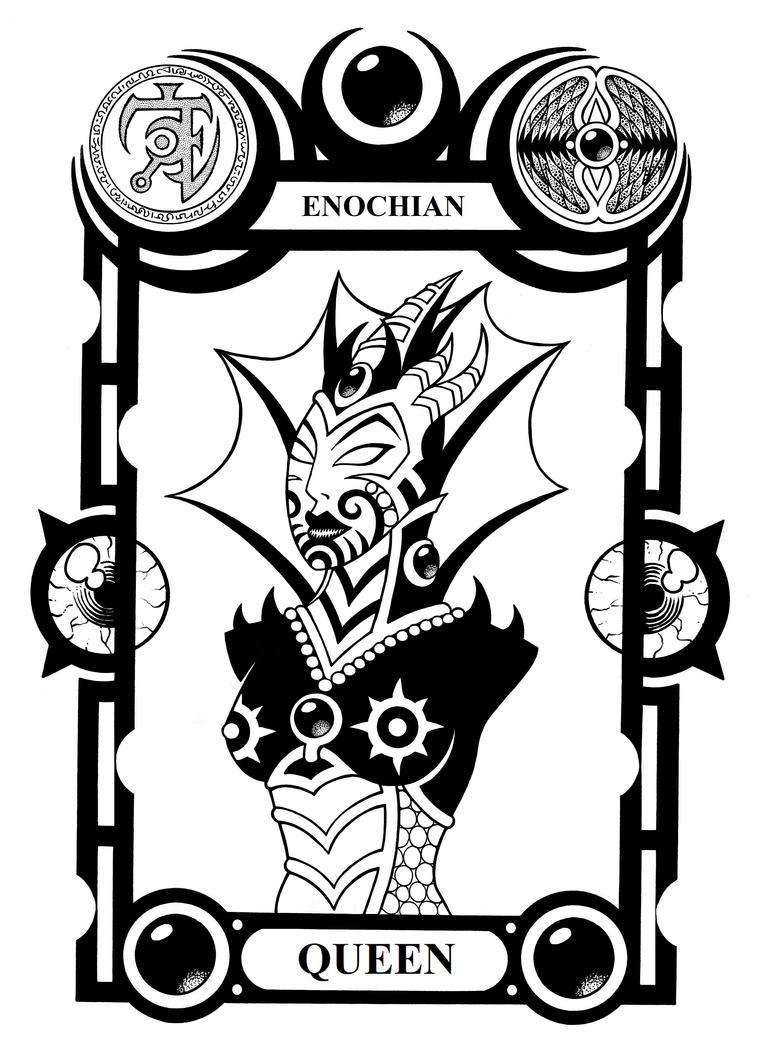 Enochian Queen by Tillinghast23