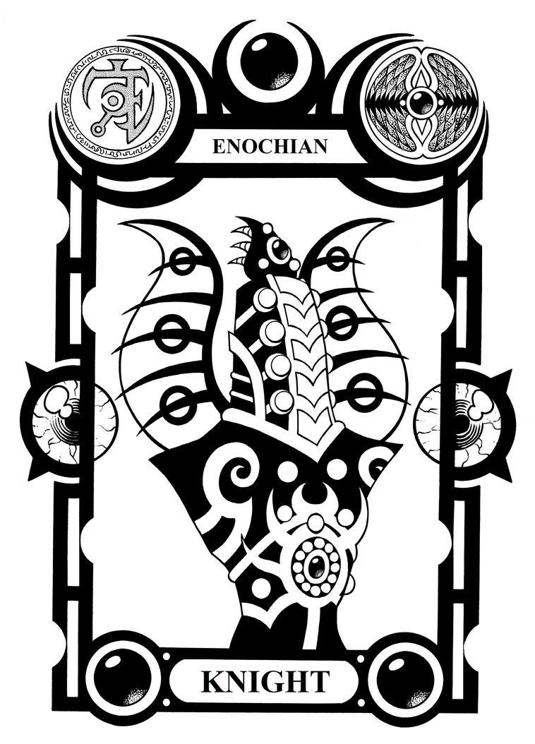 Enochian Knight by Tillinghast23