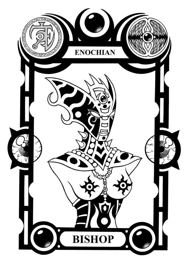 Enochian Bishop by Tillinghast23