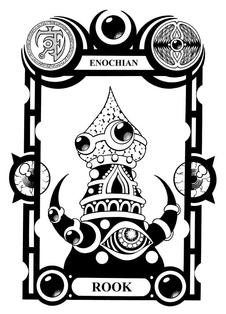Enochian Rook by Tillinghast23